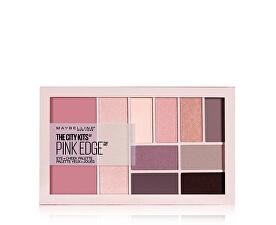 Multifunkční paletka na líčení očí a tváře The City Kits Pink Edge 12 g