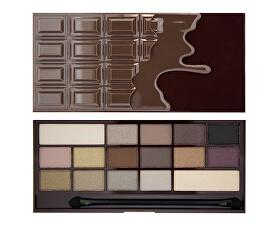Zázračná paletka očných tieňov Smrť čokoládou I LOVE MAKEUP (Wonder Palette Death By Chocolate) 22 g