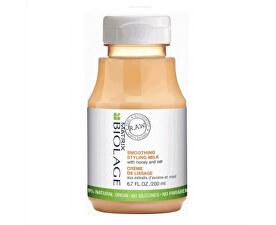 Stylingové uhlazující mléko s medem a ovsem Biolage RAW Styling (Smoothing Styling Milk) 200 ml