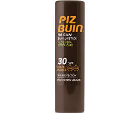 Balzám na rty s Aloe Vera SPF 30 (In Sun Lipstick Aloe Vera Extra Care) 4,9 g
