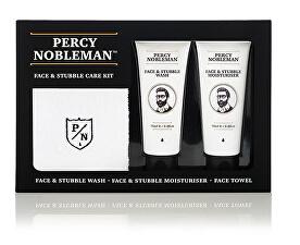 Set cadou de îngrijire a pielii și bărbii pentru bărbați (Face & Stubble Care Kit)