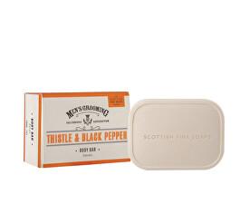Pánské mýdlo Černý pepř a ostropestřec 200 g