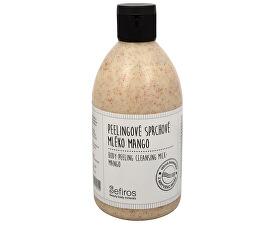 Peelingové sprchové mléko Mango (Body Peeling Cleansing Milk) 500 ml