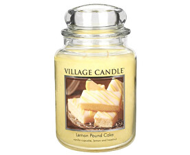 Lumânare parfumată în pahar Lemon Pie (Lemon Poud Cake) 645 g