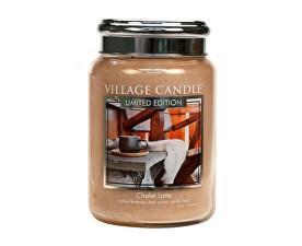 Vonná svíčka ve skle Latté v horské boudě (Chalet Latte) 602 g