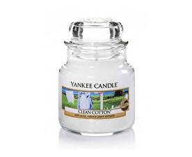 Vonná sviečka Classic malý s vôňou čistej bavlny (Clean Cotton) 104 g