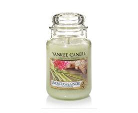 Vonná svíčka Classic velký Citrónová tráva a zázvor (Lemongrass & Ginger) 623 g