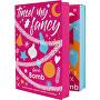 Obří adventní kalendář 24 produktů koupelové a Beauty kosmetiky (Tinsel My Fancy Bath & Beauty Advent Calendar)