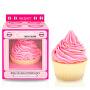Bombă efervescentă pentru baie Cupcake Pink (Bath Bomb) 165 g