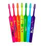 Extra jemný dětský zubní kartáček Kids ZOO (Extra Soft) 1 ks