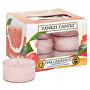 Aromatické čajové svíčky Pink Grapefruit 12 x 9,8 g