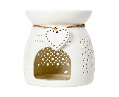 Bílá aroma lampa