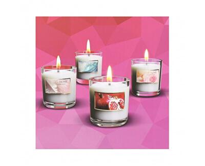 Set de 4 lumânări mici și inima de primăvară Acasă