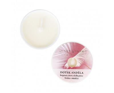Lumânare aromatică in bol Atingerea îngerului (bergamot, citron a sladké pižmo) 38 g