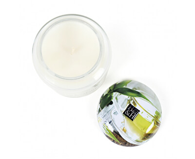 Lumânare parfumata Ceai alb și eucalipt 340 g