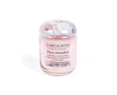 Lumânări parfumate mediu Un adevărat farmec 115 g
