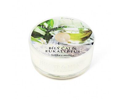 Lumânare parfumata in bol Ceai alb & eucalipt 38 g