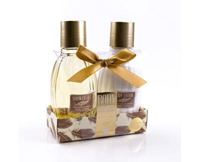 Set cadou  Body Luxury Warm Vanilla & Lime Blossom (Bath Set)