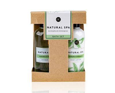 Testápoló kozmetikai szett Natural Spa