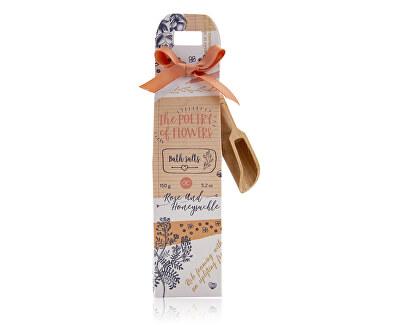 Sare de baie  cu parfumul de trandafiri si caprifoi Poezie de flori (Bath Salts) 150 g