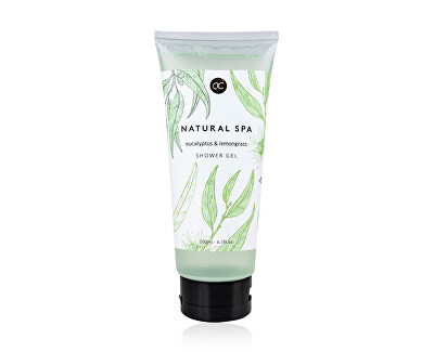 Gel de duș eucalipt și iarbă de lămâie  Spa (Shower Gel) 200 ml