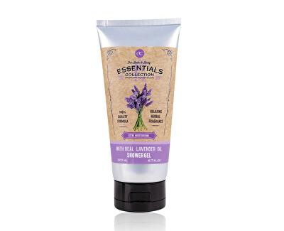Gel de duș cu ulei de lavandă Lavender (Shower Gel) 200 ml