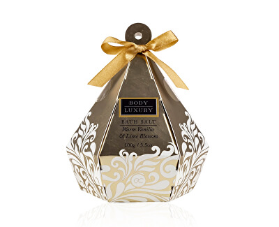 Sare de baie Body Luxury Warm Vanilla & Lime Blossom (Bath Salt) 100 g