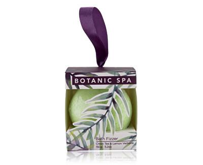 Bombă de baie spumantă cu miros de ceai verde si lămâie Botanic Spa (Bath Fizzer) 150 g
