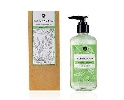 Sapun lichid eucalipt și iarbă de lămâie Natiral Spa (Hand Soap) 300 ml