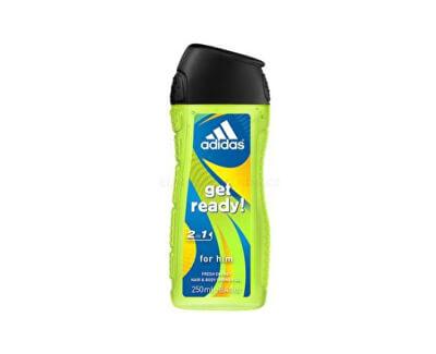 Adidas Sprchový gel pro muže na tělo i vlasy Get Ready! (Shower gel)