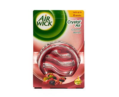 Air Wick Skleněný osvěžovač vzduchu Crystal Air Lesní plody 5,21 g