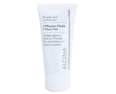 Alcina 5- minútový maska pre svieži vzhľad pleti ( Minute Mask) 50 ml