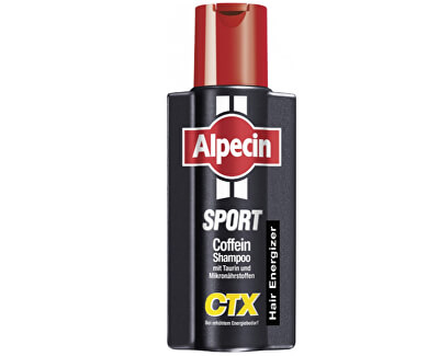 Kofeinový šampon proti vypadávání vlasů Sport CTX (Energizer Kofein Shampoo) 250 ml