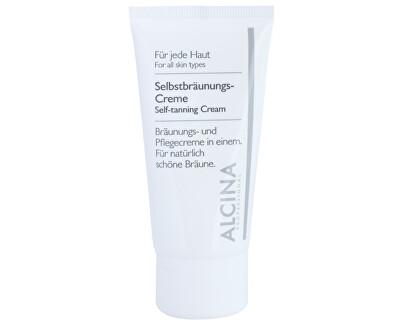 Samoopalovací krém na obličej (Self-Tanning Cream) 50 ml - SLEVA - pomačkaná krabička