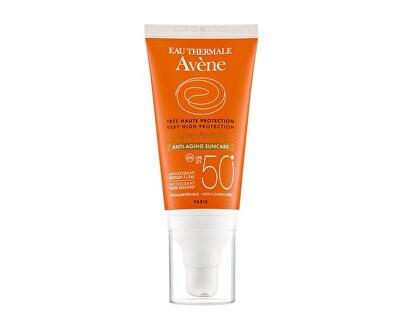 Opalovací krém proti vráskám na citlivou pleť SPF 50+ (Anti-Aging Sun Care) 50 ml - SLEVA - pomačkaná krabička