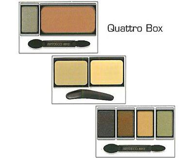 Magnetický box se zrcátkem (Beauty Box Quattro)