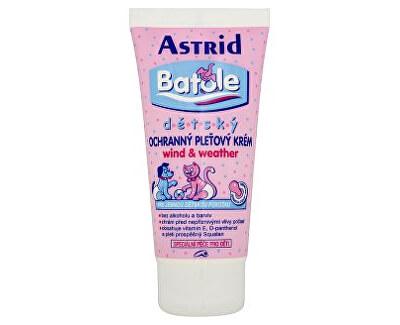 Astrid Dětský ochranný pleťový krém wind&weather Batole 75 ml