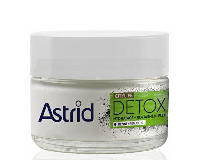 Hydratační rozjasňující denní krém OF10 Citylife Detox 50 ml