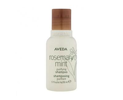 Čisticí šampon na vlasy Rosemary Mint (Purifying Shampoo) 50 ml