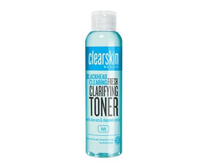 Čisticí pleťová voda proti akné s výtažky z aloe a heřmánku Clearskin (Fresh Clarifying Toner) 100 ml