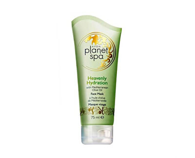 Hydratačná pleťová maska s olivovým olejom Planet Spa (Face Mask Heavenly Hydration with Mediterranean Olive Oil) 75 ml