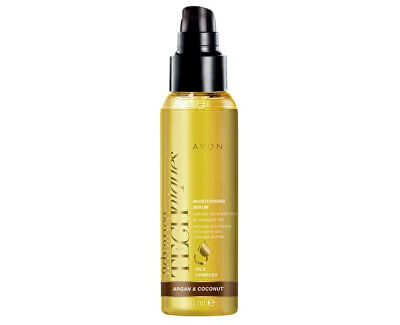 Hydratační sérum na vlasy s arganovým a kokosovým olejem 100 ml