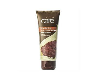 Vyživující krém na ruce a nehty s kakaovým máslem a vitaminem E Care (Hand Nail Cuticle Cream) 75 ml