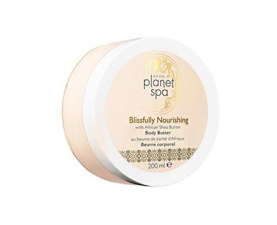 Avon Vyživující tělový krém s bambuckým máslem Planet Spa (Body Butter Blissfully Nourishing with African Shea Butter) 200 ml