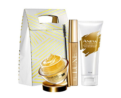Zlatá kosmetická sada pro ženy