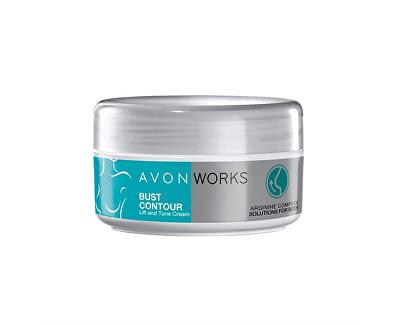 Zpevňující liftingový krém na poprsí s argininem Avon Works (Bust Contour) 150 ml