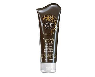 Avon Zpevňující tělový peeling s výtažky z kávy Planet Spa Fantastically Firming 200 ml
