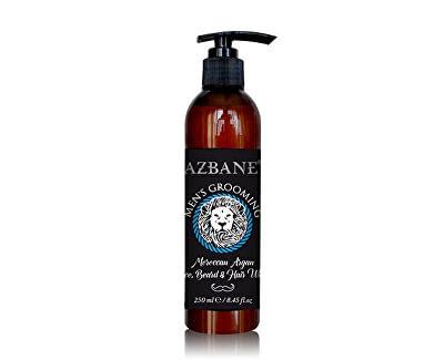 Arganový přípravek pro mytí vousů, vlasů a obličeje 250 ml