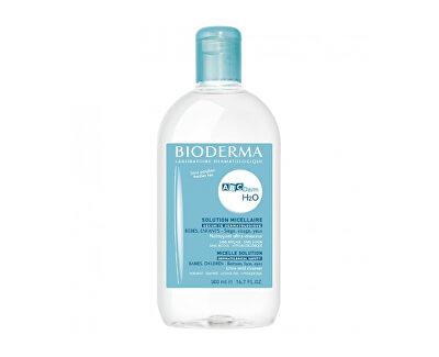 Čisticí micelární pleťová voda H2O (Solution Micellaire) 500 ml
