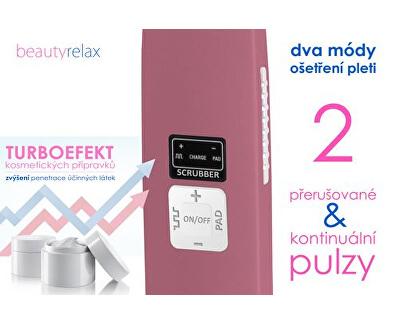 Hloubkově čisticí ultrazvuková kosmetická špachtle na obličej BR-1010 - SLEVA - bez celofánu, poškozená krabička